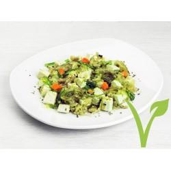 Salteado de tofu y alga wakame